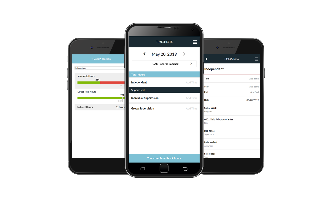 Mobile Timesheets Student Time Tracking Software
